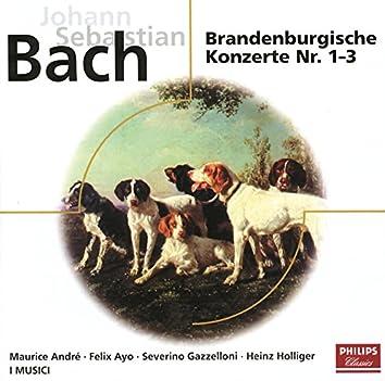 Bach: Brandenburgische Konzerte No.1-3  BWV 1046-1048; Orchestersuite BWV 1067