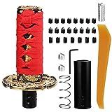 Auto Samurai Style Automatic Knob Shifter 10CM(# 2 Äußeres rotes inneres Schwarzes)