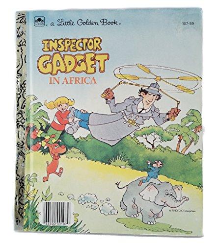 Inspector Gadget in Africa (Little Golden Book)