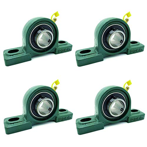 4PSC of UCP205-16 Cast Iron Pillow Block Mounted Bearings-1