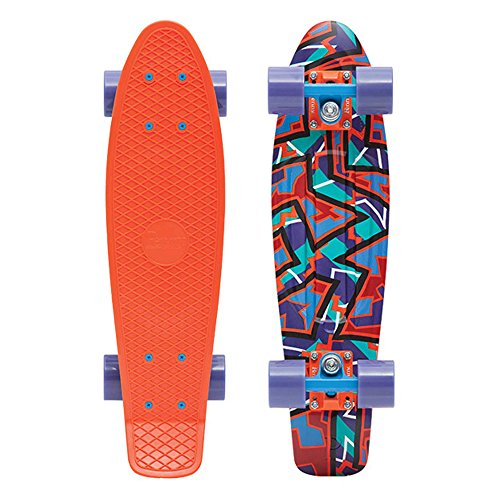 Penny Complete 22'' Graphic Series Skateboard, Spike, 22