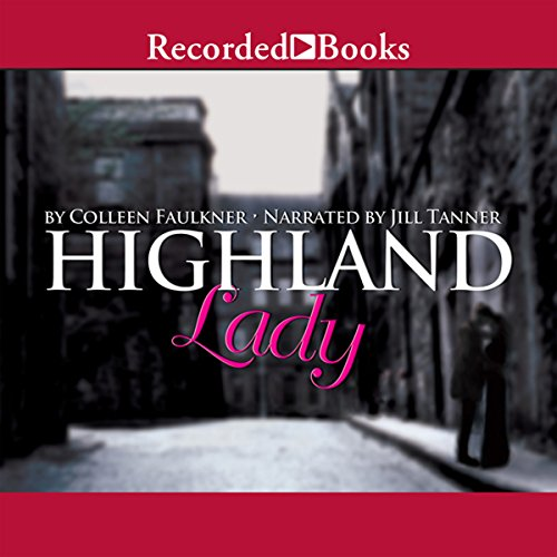 Highland Lady audiobook cover art