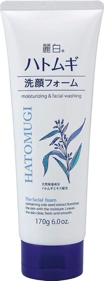 瞳分析するスリッパ熊野油脂 麗白 ハトムギ洗顔フォーム 170g 4513574029590