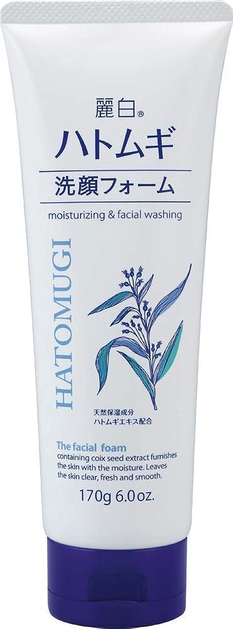 幸福風変わりな休み熊野油脂 麗白 ハトムギ洗顔フォーム 170g 4513574029590