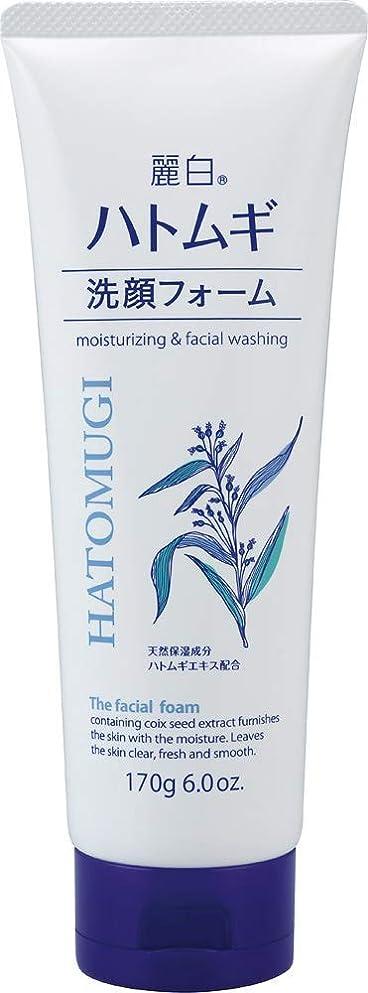 鋼疫病モデレータ熊野油脂 麗白 ハトムギ洗顔フォーム 170g 4513574029590