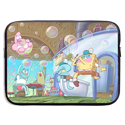 Spongebob Squarepants 360°Protective Neoprene Laptop Sleeve Case for Apple 15-13 Inch New MacBook