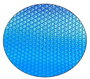 🏊【ATTRACTIVE BLUE DESIGN】 - Fiogavroetic solar blankets are made from a film of thousands of tiny bubbles, which work together to collect and retain heat both at night and on those chilly days. The blue color provides an appealing look while also usi...