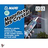 Zoom IMG-1 mapeflex ms crystal mapei 300ml