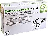 Esfigmomanómetro Aneroide Premium 1-Schlauch Ejecución con Maleta de Transporte Von Medi-Inn