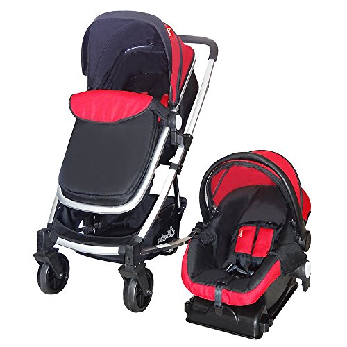 D'bebé Carriola Travel System Crown Rojo