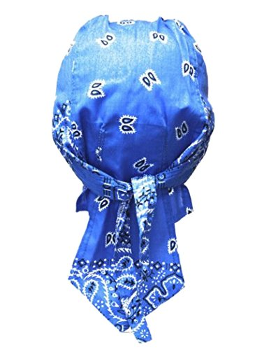 armardi b Bandana casquette Old School bleu clair