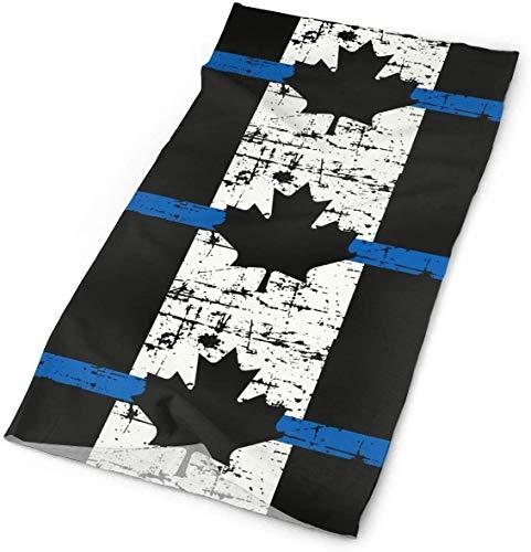 Keyboard cover Bandana de Canadá, fina línea azul de la bandera de tubo, pañuelo mágico para la cara, bufanda, cuello, polaina One_color. Talla única