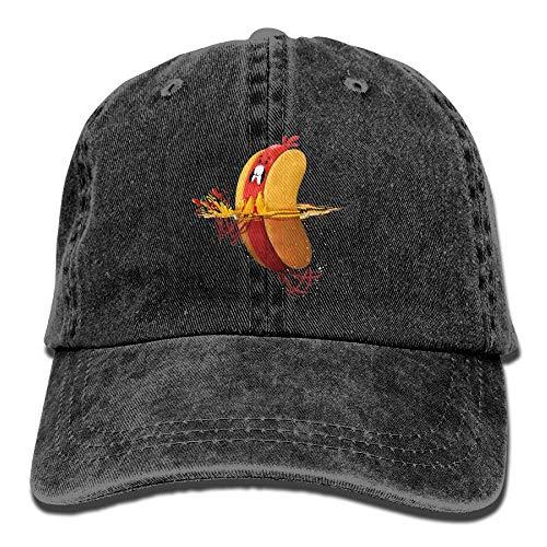 Klassisches Unisex Baseball Cap Ball Hut Hot Doggy Paddel