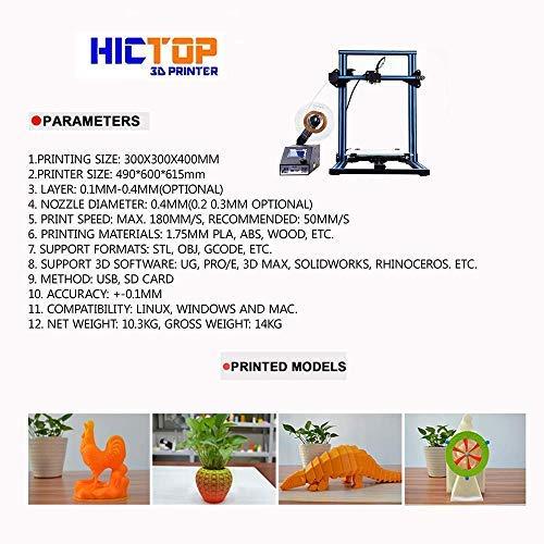 HICTOP – 3DP22 (CR-10S) - 2
