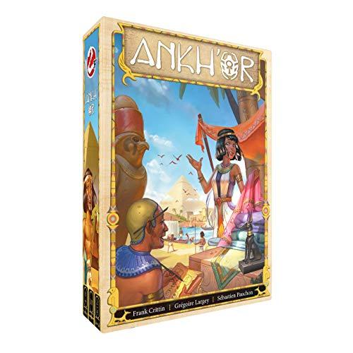 Ankh'or - Bordspel - Verzamel grondstoffen en bouw een handelsimperium in het oude Egypte! - Voor de hele familie - Taal: Nederlands