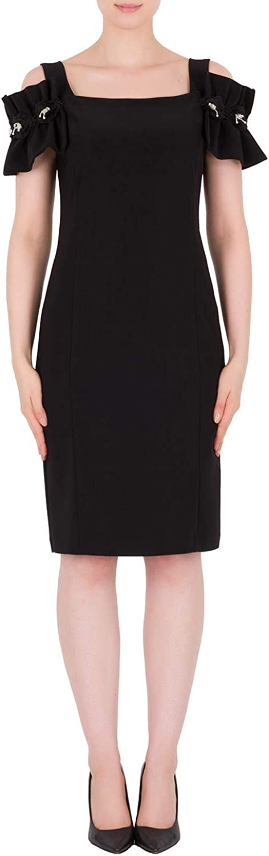Joseph Ribkoff Black Dress Style 191041