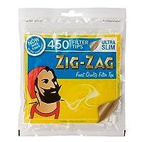 柘製作所(tsuge) ジグザグ・ウルトラスリム フィルター [約450個入り] #78538 ×2パック 手巻きタバコ
