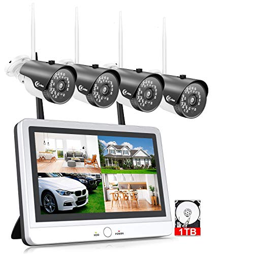XVIM 12' Monitor Wireless Signal Security Camera...