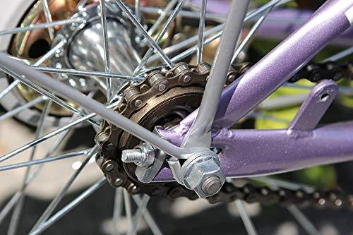 ZONKIE Fahrrad Kette 1-fach 116 Glieder - 5