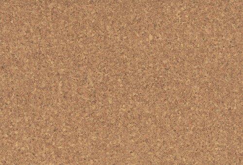 1 m² Natur Korkboden Klebekork, Korkboden in feiner Optik zum Kleben, Korkboden zum kleben, Korkfußboden zur Verklebung - 610 x 305 x 4 mm, werkseitig bereits vorversiegelt und vorgeleimt - Sidus