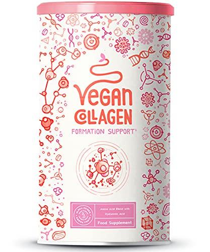 Vegan Collagen Formation Support Ácido hialurónico - Alternativa vegetal al colágeno convencional - Sin sabor - 400 gramos