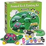 Bingo Castle Steinmal-Set für Kinder, Kunst und Handwerk für Mädchen ab 8-12 Jahren, Felsen zum...