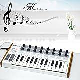 Generic Worlde Mini Professional 25-Key USB MIDI Drum Pad and Keyboard Controller