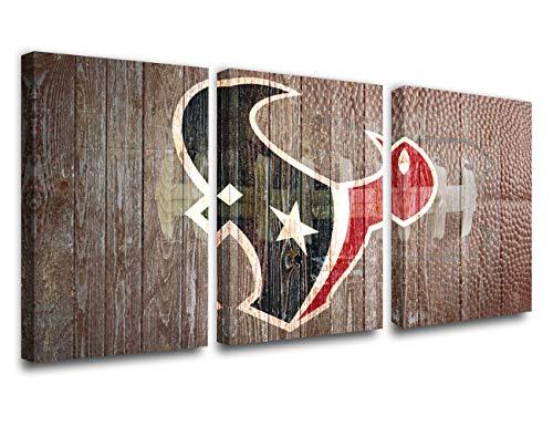 Houston Texans NFL Framed 8x10 Photograph Team Logo and Football Helmet Collage