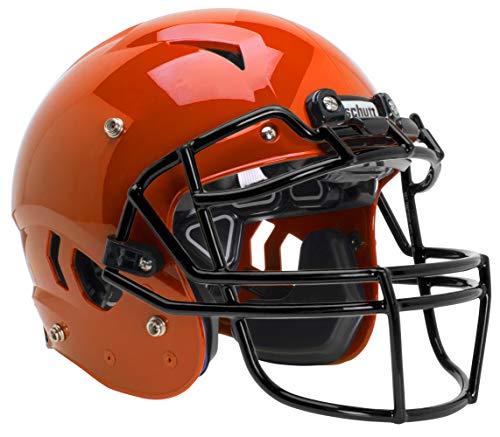 Schutt Sports Vengeance A11+ Youth Football Helmet (Facemask NOT Included), Burnt Orange, Medium
