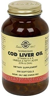 Norwegian Cod Liver Oil 250 SG 3-Pack