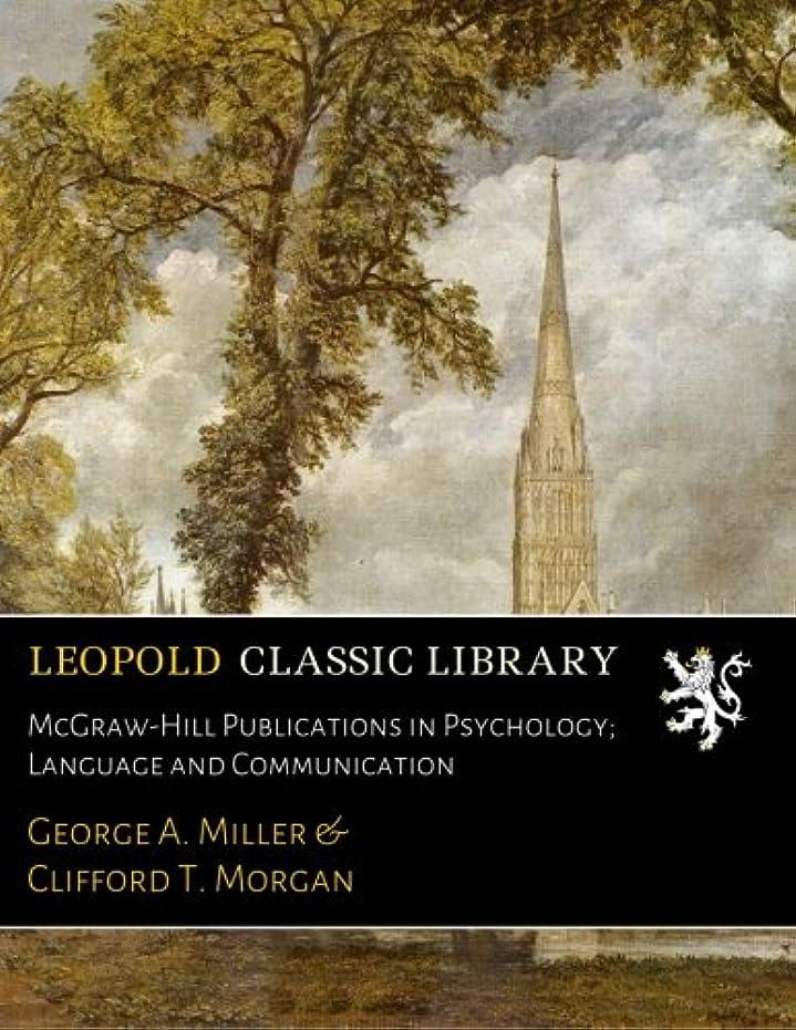 協力的ウィンク女優McGraw-Hill Publications in Psychology; Language and Communication