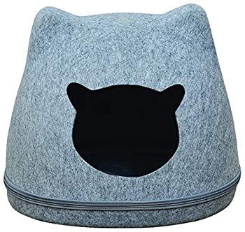 Oh My Cat Corbeille Cat Head en Feutrine pour Chat 1 Unité