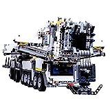 Haunen Kran Ferngesteuert Bauspielzeug DIY Bausteine Kranmodellbausatz mit RC Motor - Kompatibel mit Großen Marken(7692 Stück)