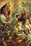 Poster 40 x 60 cm: Der Kampf des Erzengels Michael mit dem