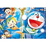 puzzles De Madera Doraemon 1000 Piezas Juguetes Educativos De Dibujos Animados Doraemon para Adultos Y Niños Regalos De Cumpleaños(Color:C)