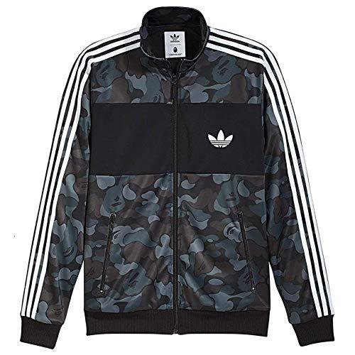 adidas Originals Firebird BAPE Track TOP Camouflage Trainingsjacke Jacke BK4570, Größe:S, Farbe:Camouflage