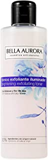 Bella Aurora Tónico Exfoliante Iluminador Tónico Facial Elimina Impurezas y Restos de Maquillaje Exfolia Tonifica e Il...