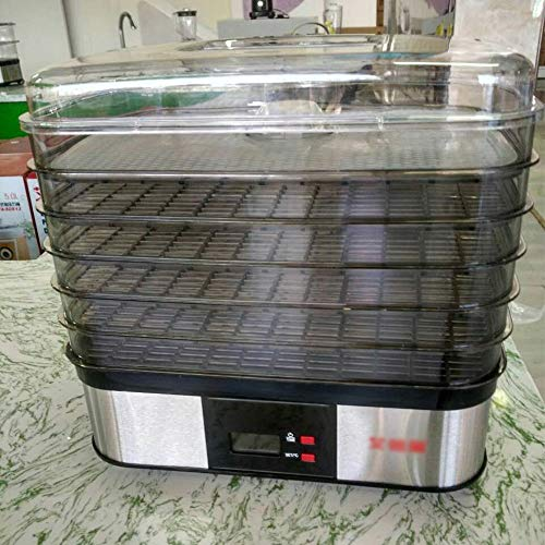 Buy Bargain Mei Xu Food Dryer Food Dryer - Food Grade Plastic, Versatile, 360° Drying, 5 Layer, Hou...