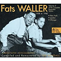 The Complete Recorded Works Volume 5 1938-1940 by Fats Waller (2008-08-19)