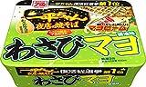 明星 一平ちゃん 夜店の焼そば わさびマヨ醤油味 116g ×12個