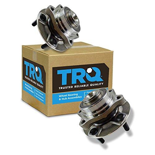 TRQ Front Wheel Hubs & Bearings Left & Right...