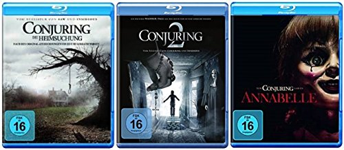 Conjuring - Teil 1+2 + Annabelle / Blu-ray Set / 3 Filme