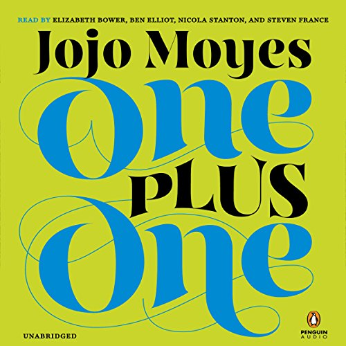 One Plus One audiobook cover art