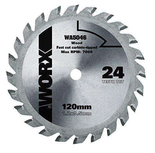Worx TCT Sägeblatt 120mm WA5046, 24 Zähne, 120 mm