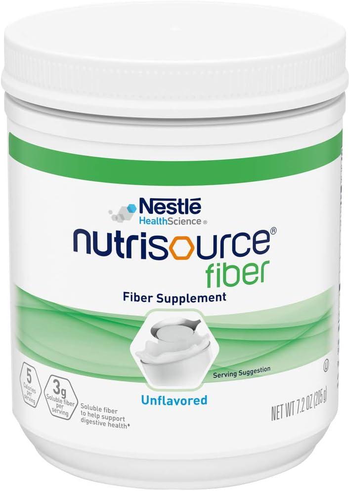 Spasm price NutriSource Fiber Supplement Powder Unflavored Oz San Diego Mall Pack 7.2 of
