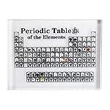 AAADRESSES Exhibición Tabla Periódica Elementos, Decoración de Tabla Periódica Acrílico, para...