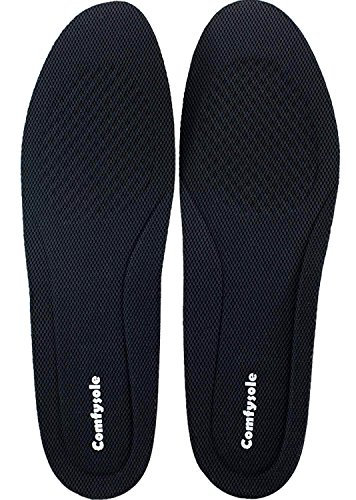 US Men's 9-13 Size 1 Inch Height Increase Elevator Insoles Large Size for Men and Women by Comfysole