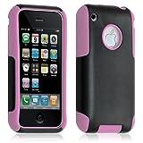 Funda Funda Carcasa para Apple iPhone 3G/3Gs Color Rosa + película de protección