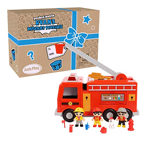 Ryan's World Large Fire Truck Vehicle Now $20 (Was $39.99)