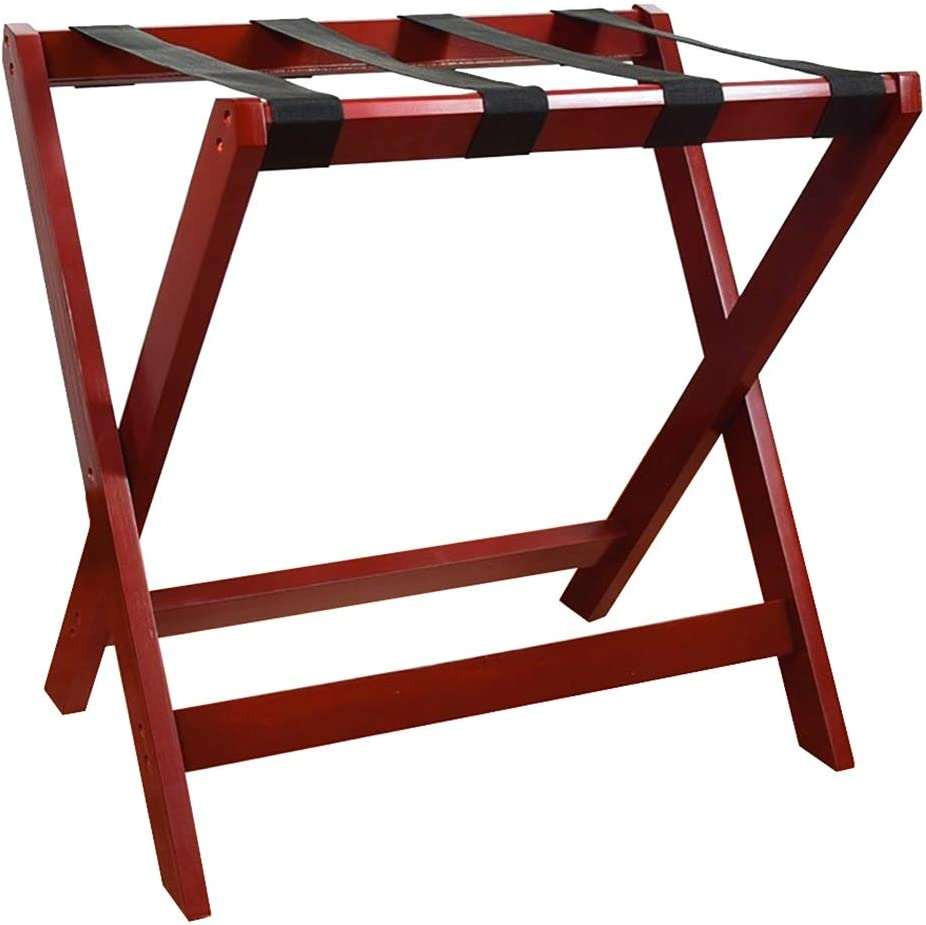 WSNBB Classic Luggage Rack Low price All Material New Free Shipping Foldable Des Solid Wood